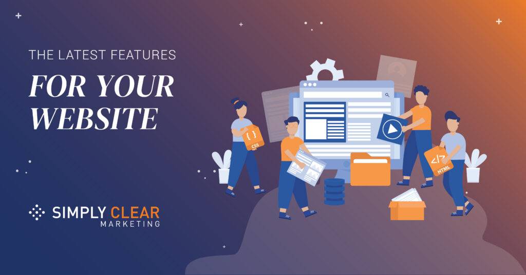 Latest features for your website